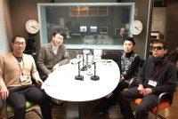 ラジオ大阪収録の様子